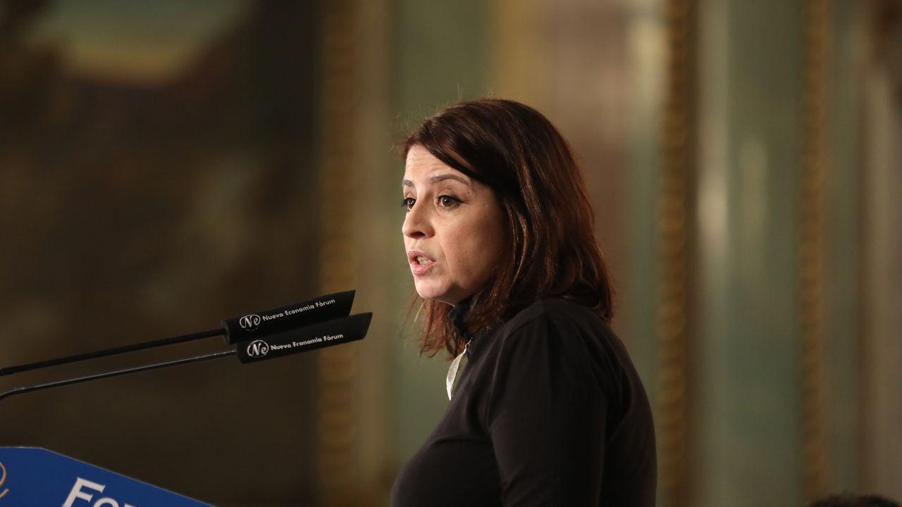 Fractura en el Gobierno de coalición a cuenta de la ley de libertad sexual.Adriana Lastra