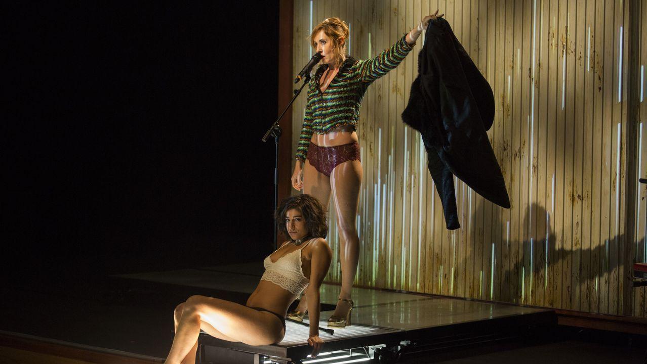 La obra «Prostitución» cerró el FIOT en pausa.Juzgados de Vigo donde se llevó la causa