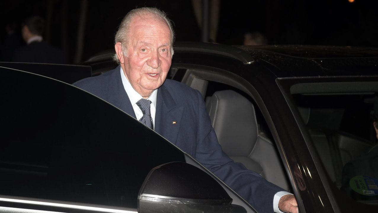 Juan Carlos I, en una imagen del pasado mes de febrero