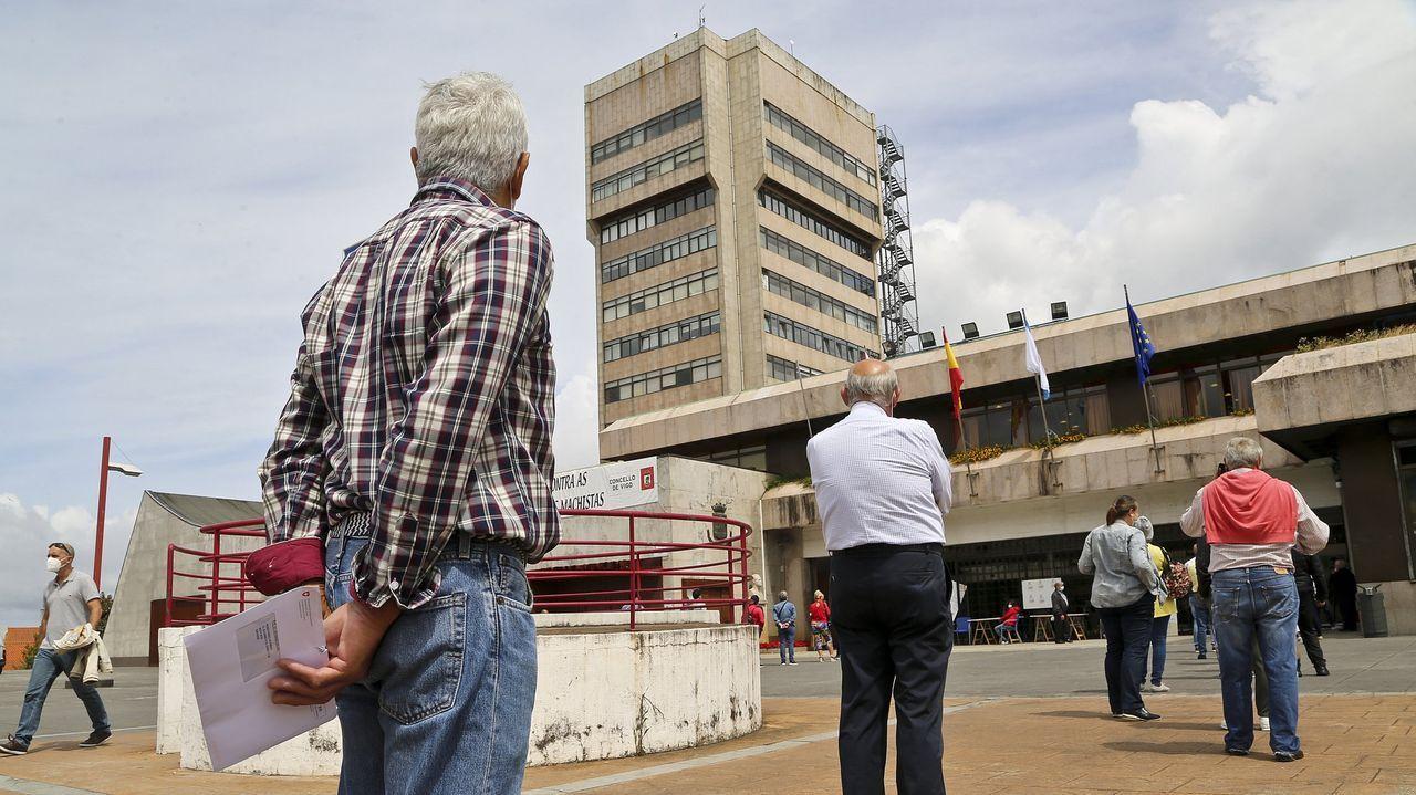 Vista general de un pleno en el Concello de Ourense