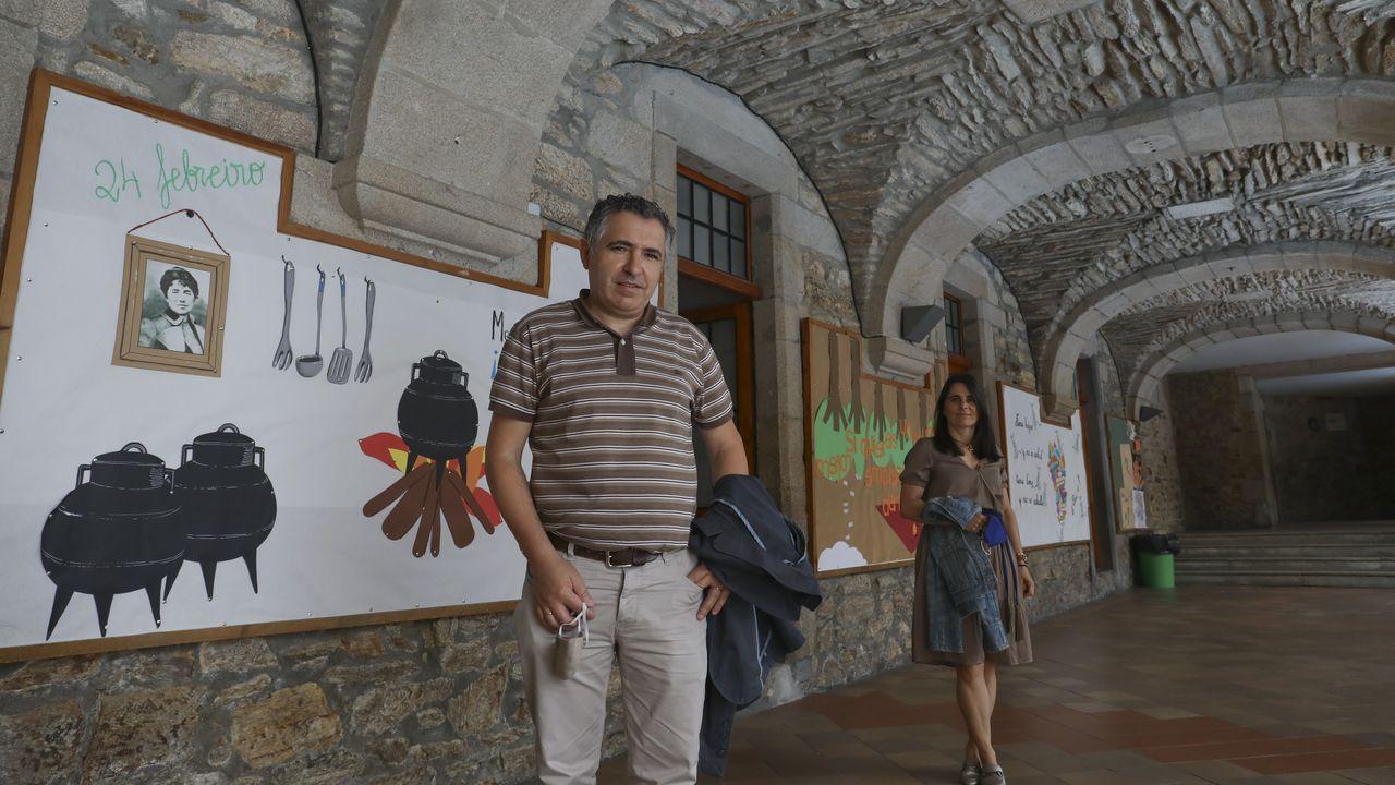 Lucía Méndez Pérez de Arévalo, retratada este miércoles en Tarifa, desde hoy inicia una nueva etapa hasta Faro
