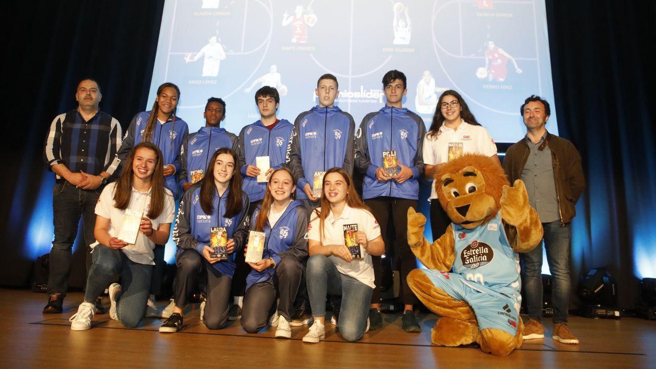 Gala del suplemento Líder en Lugo.Imagen de un balón de fútbol