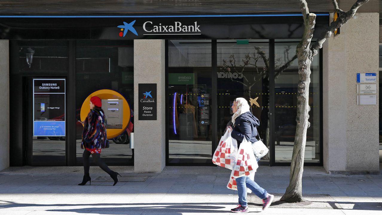 La sede de Duro Felguera.Nueva oficina de CaixaBank en Ourense