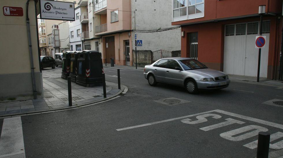Entre la confluencia con el Reboredo, en la foto, y el tramo final de la calle hay 150 metros