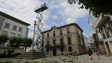 Imagen de la Casa Cornide en la ciudad vieja de A Coruña
