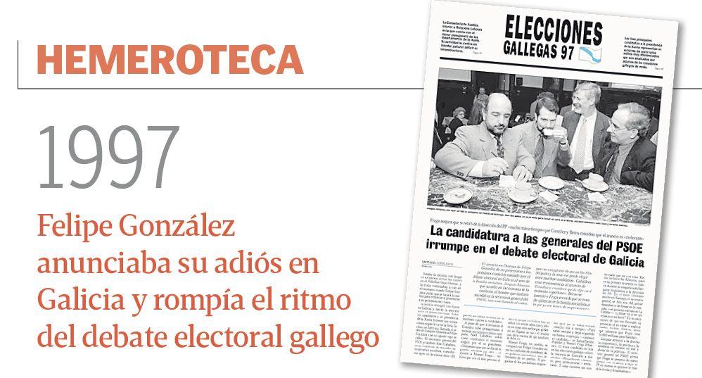 Juan Carlos I, una vida en imágenes.El ex secretario de Estado con Felipe González, Rafael Vera