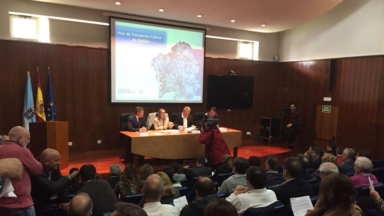 La Xunta promete un plan de transporte para Galicia en el 2019 «eficiente, sostible e adaptado».El actual trazado complica sustancialmente los adelantamientos en esta carretera