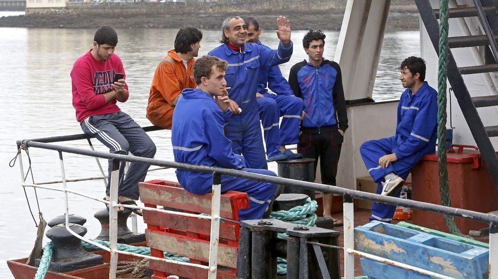Los tripulantes del «Lady Boss» recibirán un permiso temporal