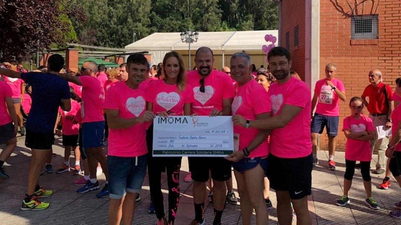 La IV Carrera Solidaria recauda 1.000 euros para la Fundación Sandra Ibarra y su lucha contra el cáncer