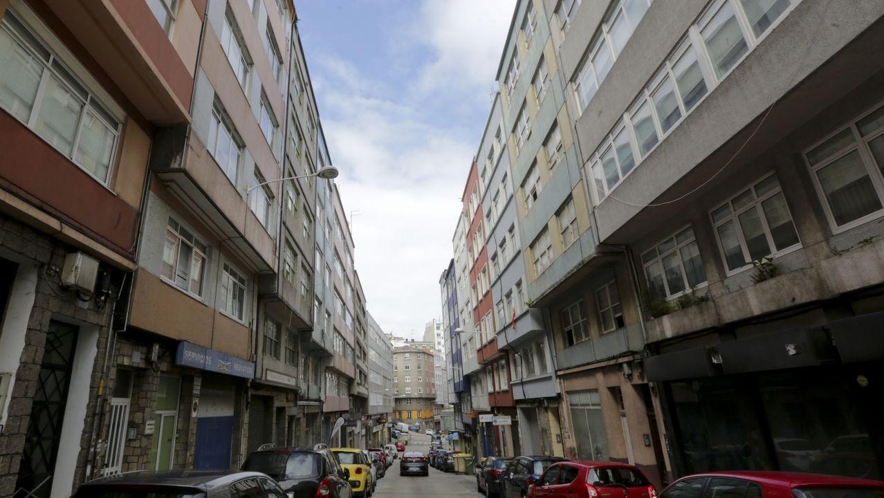 Calle Doctor Fleming, en A Coruña
