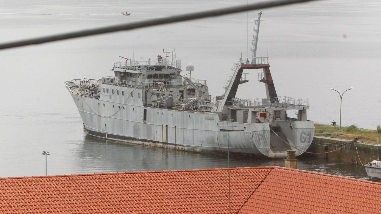Las imágenes del ejercicio «Eagle Eye» en Ferrol