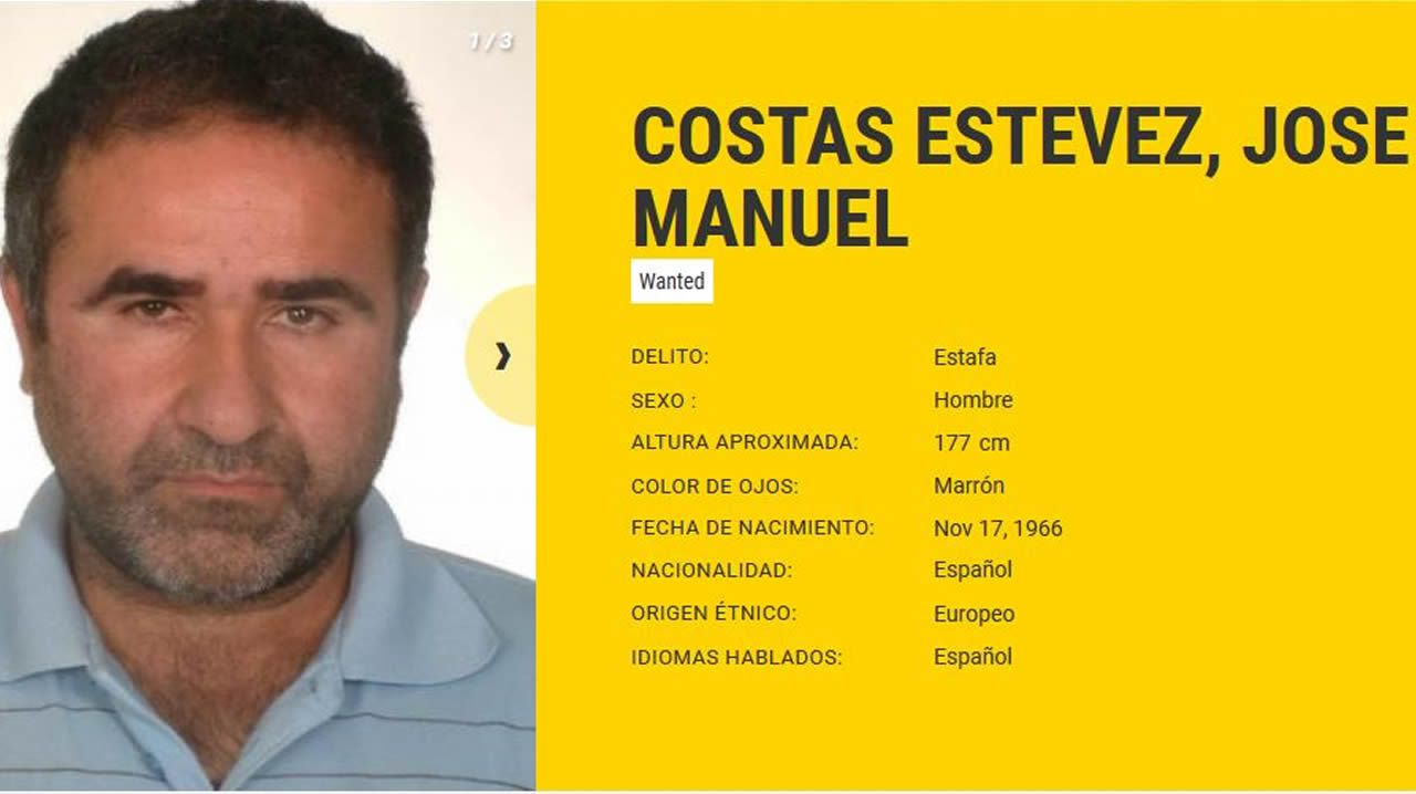 ¿Es Costas el hombre de la foto? Conocidos de Vigo de José Manuel Costas no le encuentran ningún parecido y rechazan que el hombre de la izquierda sea él