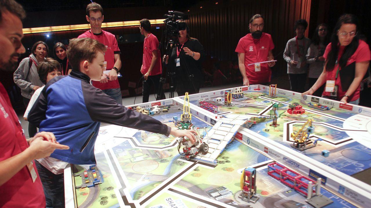 Así transcurrió en Ferrol la First Lego League