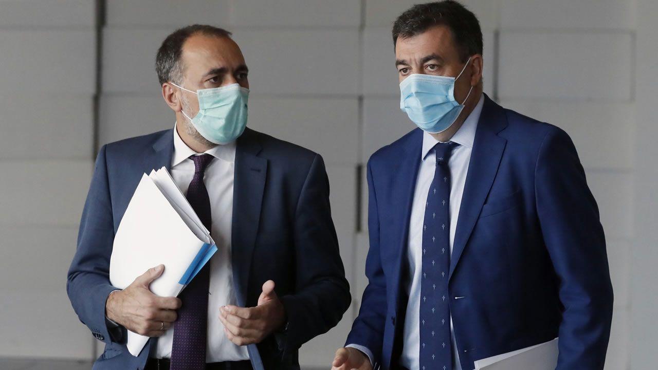 En directo: Sanidade y Educación explican el plan de vacunación de los profesores en Galicia.Ignacio Villaverde