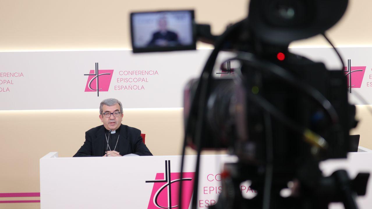 Luis Varela, vicerrector y coordinador del área de Juventud del Seminario de Lugo