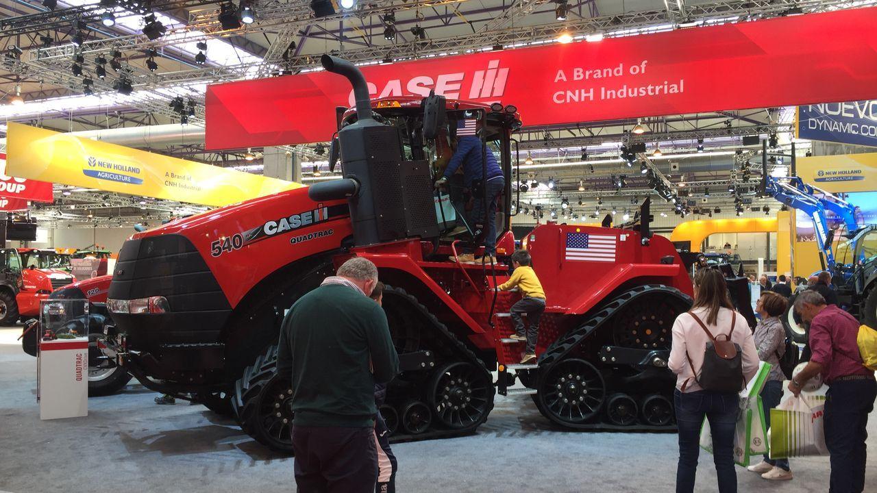 Tractor Case 540 Quatrec de Case