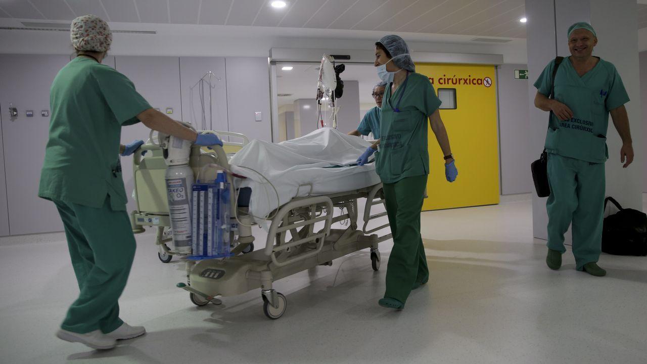 «Tomé la decisión de vivir».Presentación del plan de contingencia frente a la gripe en el Chuac
