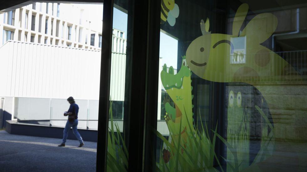 Área pediátrica de un centro de salud de Santiago