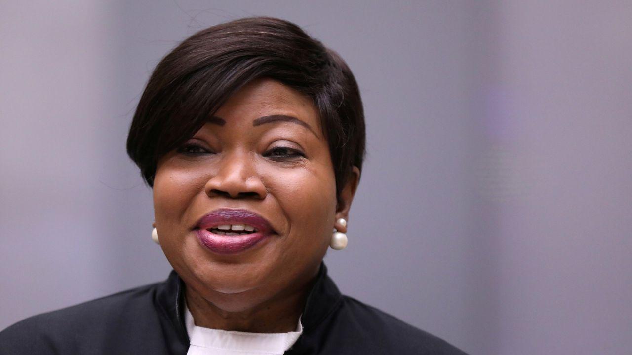 a fiscala jefe del Tribunal Penal Internacional (TPI), Fatou Bensouda