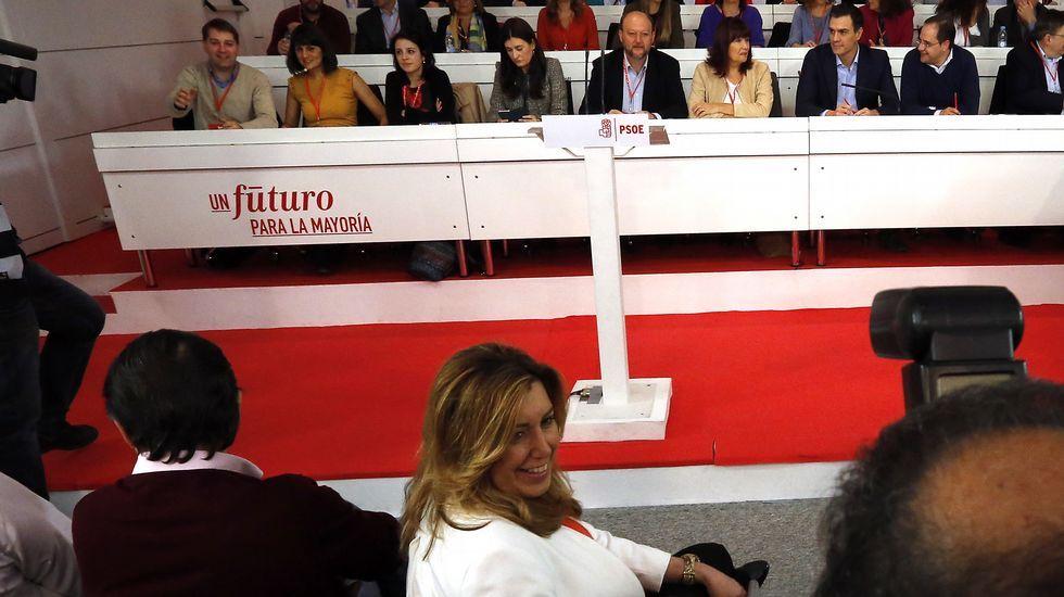 Chaves y Griñán dejan el PSOE voluntaria y temporalmente.La popular Carmen Crespo
