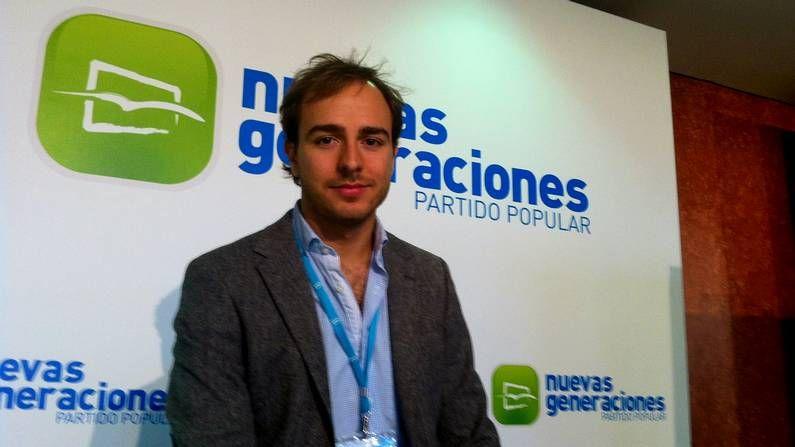 Javier Dorado, presidente de Novas Xeracións en Galicia