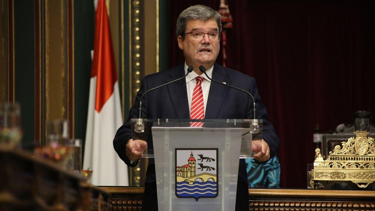 Entrevista a Ignacio Blanco (VOX).El alcalde de Bilbao, Juan Mari Aburto