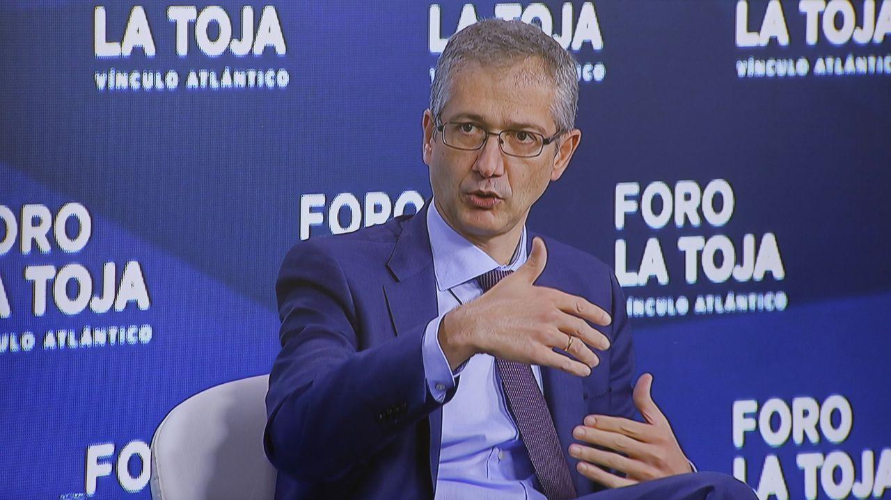 El Gobernador del Banco de España, Pablo Hernández de Cos, es una imagen de archivo