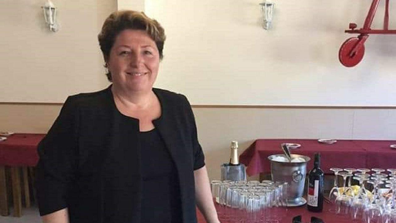 Eva Blanco es la propietaria del restaurante A Grella dos Avós