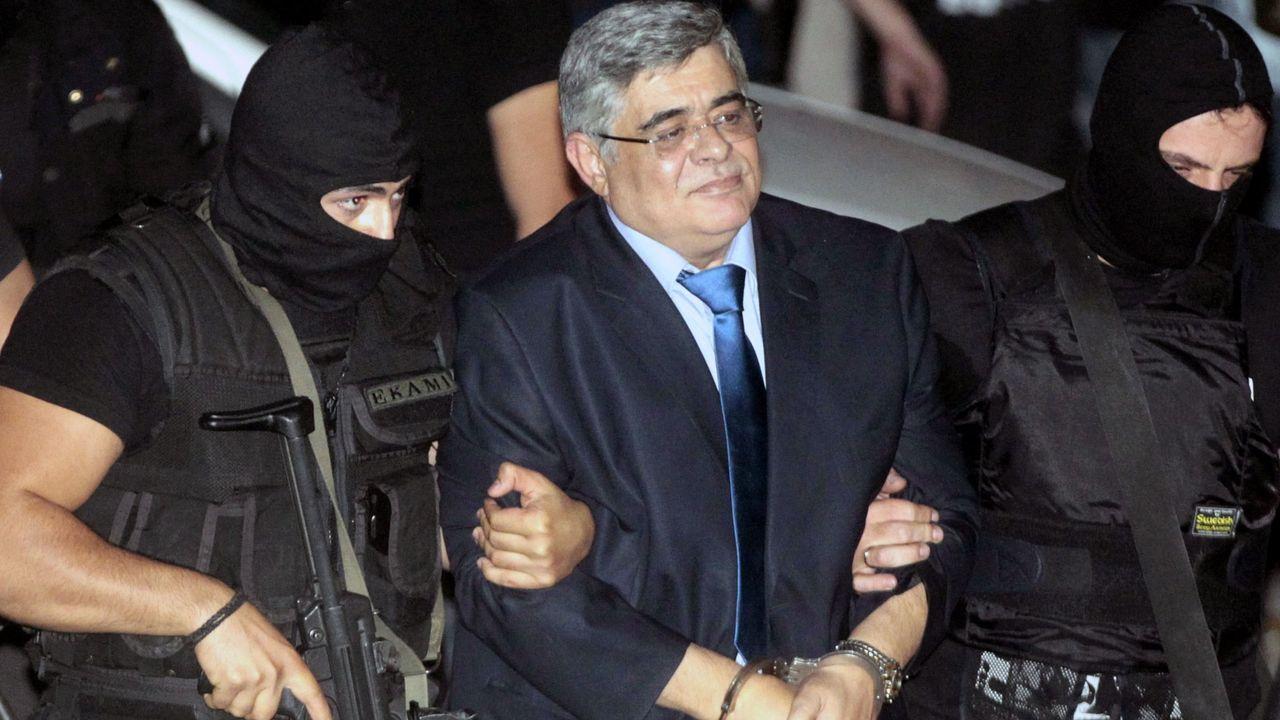 Nikolaos Mijaloliakos, líder del partido neonazi Amanecer Dorado