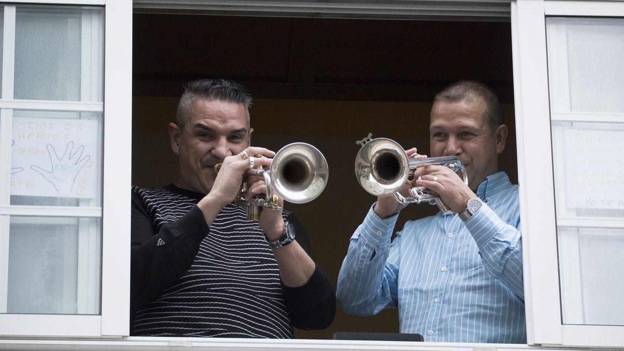 Los instrumentos de viento son frecuentes en este tipo de composiciones