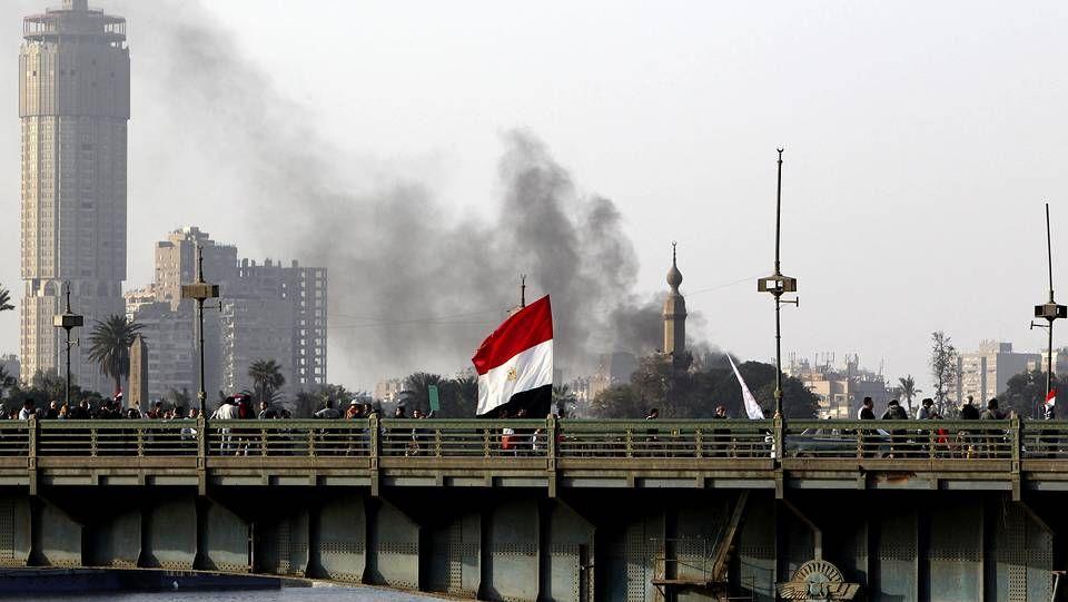 Manifestaciones contra Mursi en Egipto