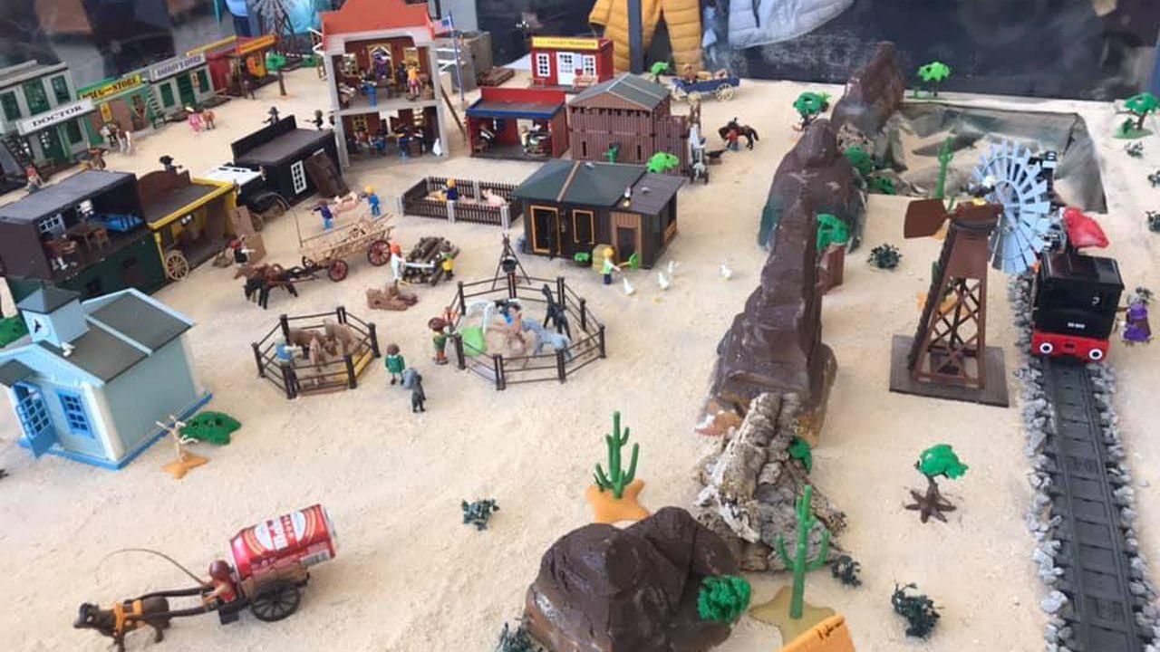 Exposición de Playmobils en Siero