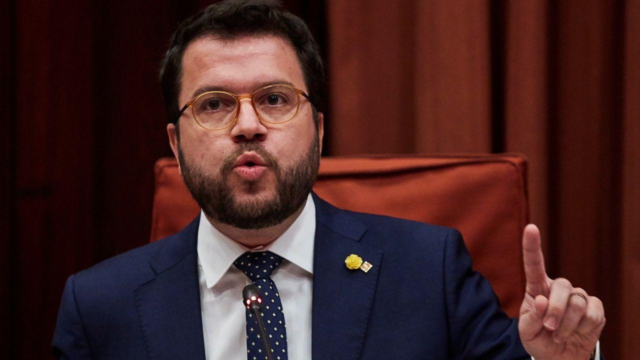 La ministra de Hacienda, María Jesús Montero, y el presidente de la Xunta coincididieron en julio en un acto en A Coruña