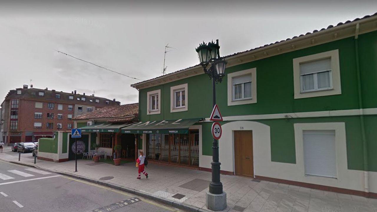 Asturias cumple el deber moral de recordar a las víctimas y honrar su memoria.Sidrería de Colloto donde tuvieron lugar los hechos