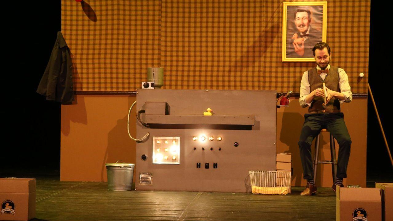 Caramuxo Teatro pondrá en escena el espectáculo familiar «Feo»