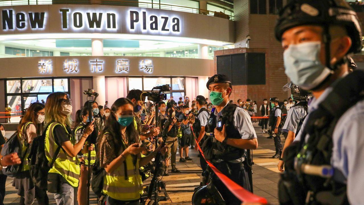 Las protestas volvieron a las calles de Hong Kong a principios de mes
