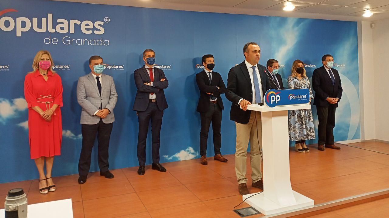El atún rojo que «nadó» de Cádiz a Monte Alto.El presidente provincial del PP de Granada, Francisco Rodríguez, anuncia la salida del gobierno local de Granada de los concejales del PP.