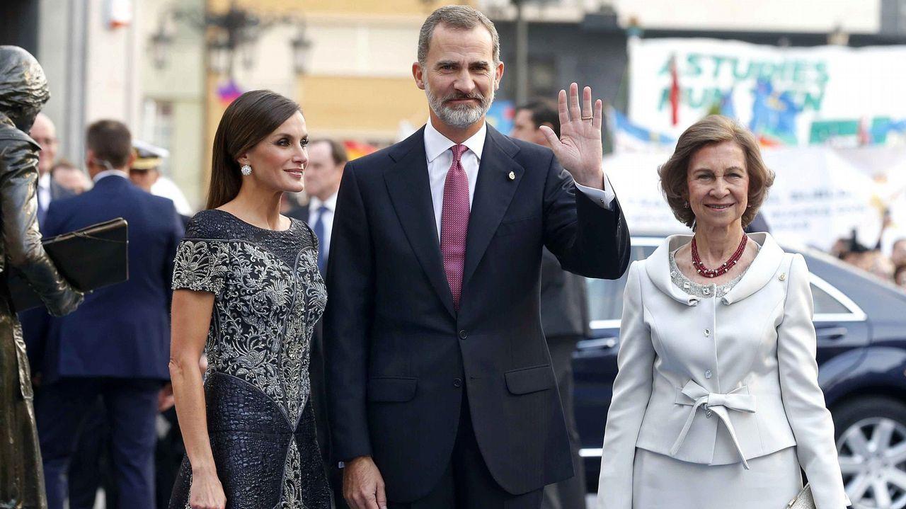 En los premios Princesa de Asturias