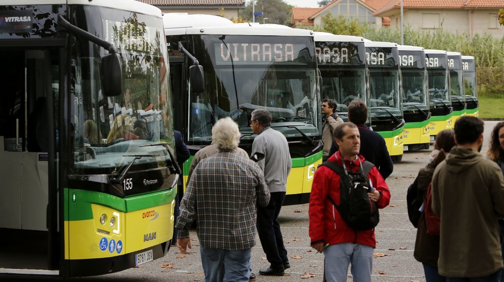 Vitrasa amplía su flota de autobuses
