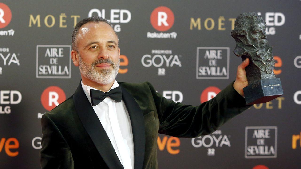 El actor en el 2018, año en el que recibió su segundo Goya, por «El autor»