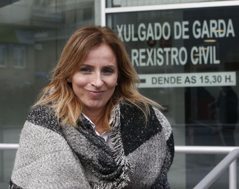 El  Minerva , en A Coruña.Taboada, secretaria de Acción Electoral del PSOE en Ourense.