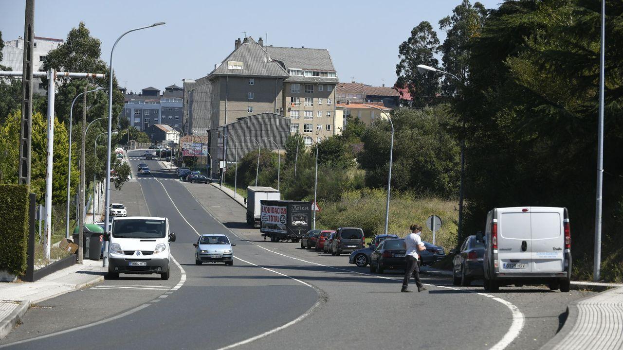 Fachada del colegio Maristas en Ourense