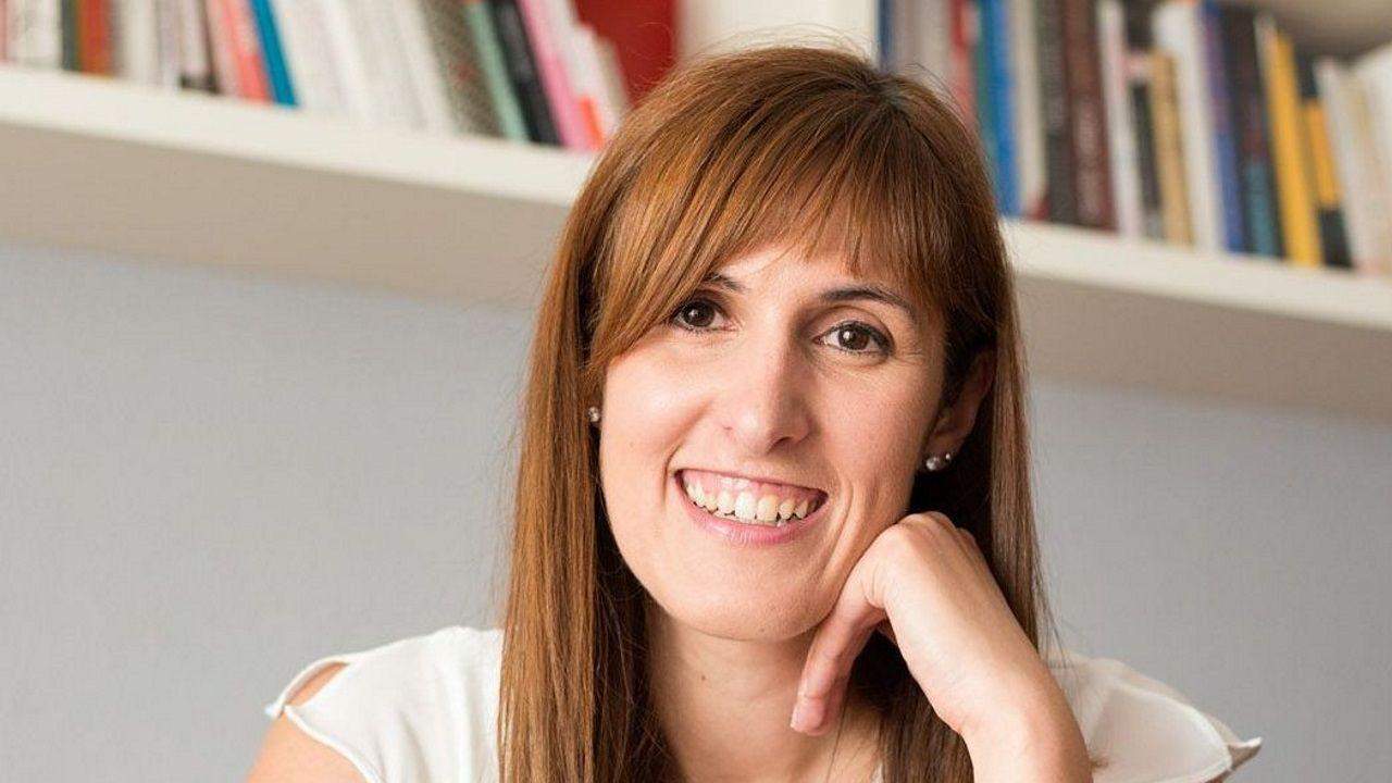 Alba Galocha fotografiada en su casa a través de FaceTime