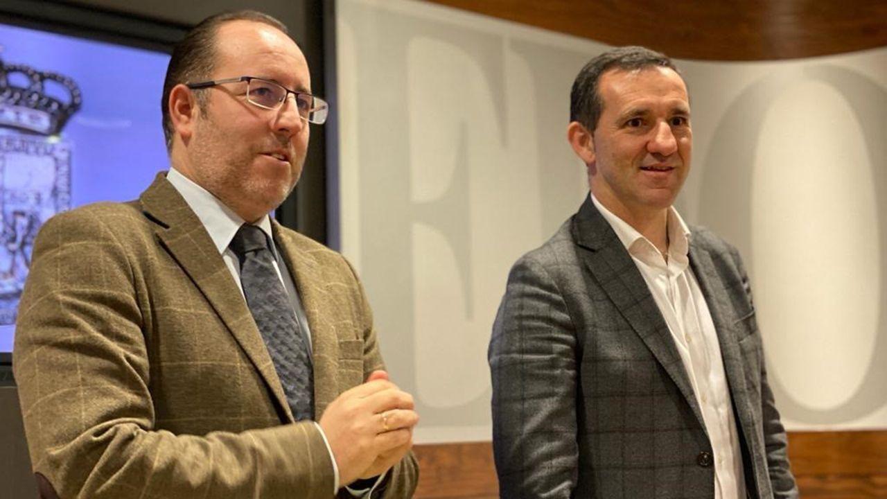 Mario Arias y Javier Cuesta