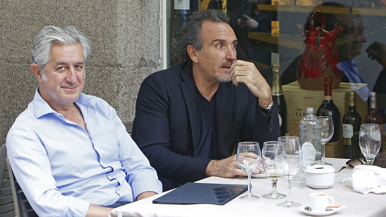 A la derecha, Marco Severini, fotografo de moda que estuvo casado con Nieves Álvarez