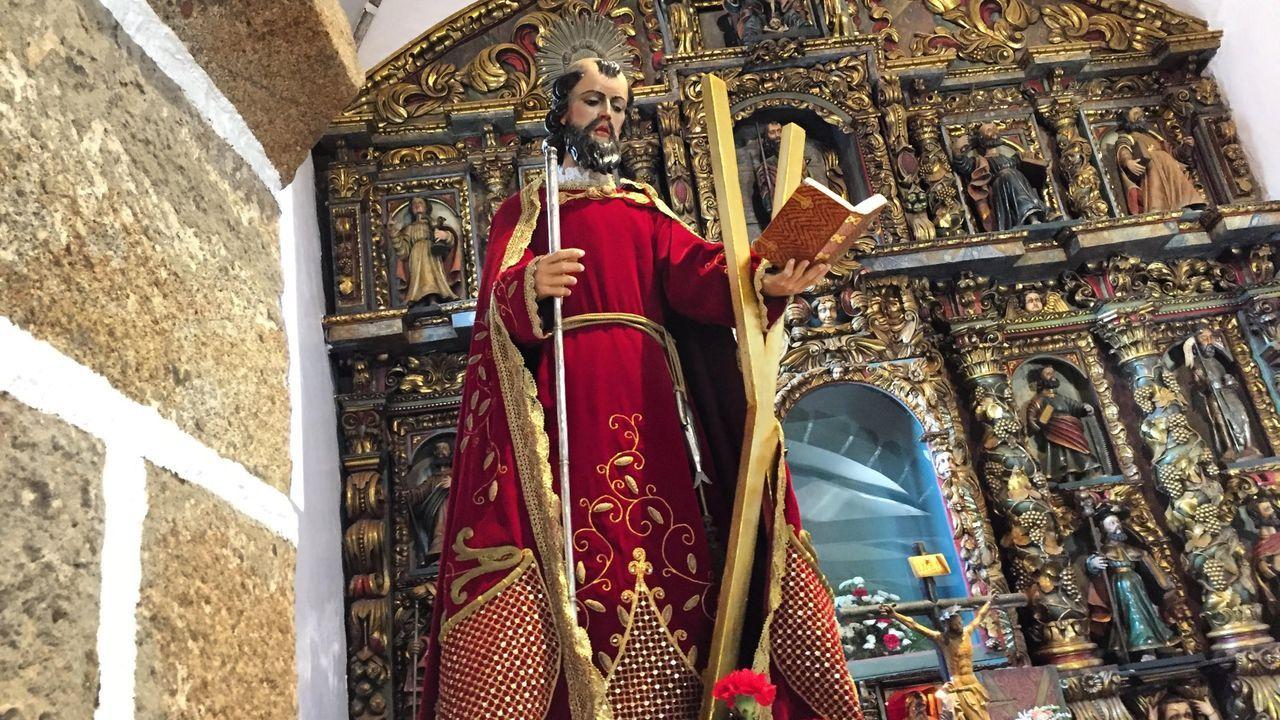 Veinte años de un yacimiento único en Lugo.Cando chegou a Teixido, Otero Pedrayo escribiu: «Eiquí debería frolescer unha colonia de monxes sabios com'os do monte Atos. San Andrés é culto galego e mariño»