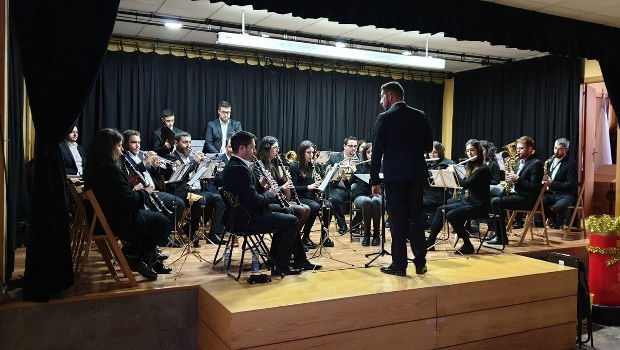 El concierto se ofreció en el auditorio del antiguo cuartel de Taboada