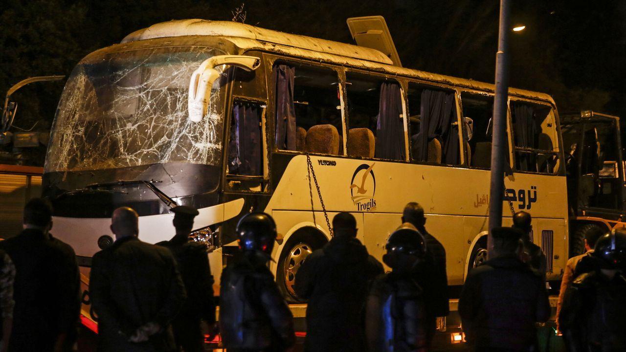 Abatidos 40 supuestos terroristas tras el atentado en Guiza.Vista aérea de un campo en Florida