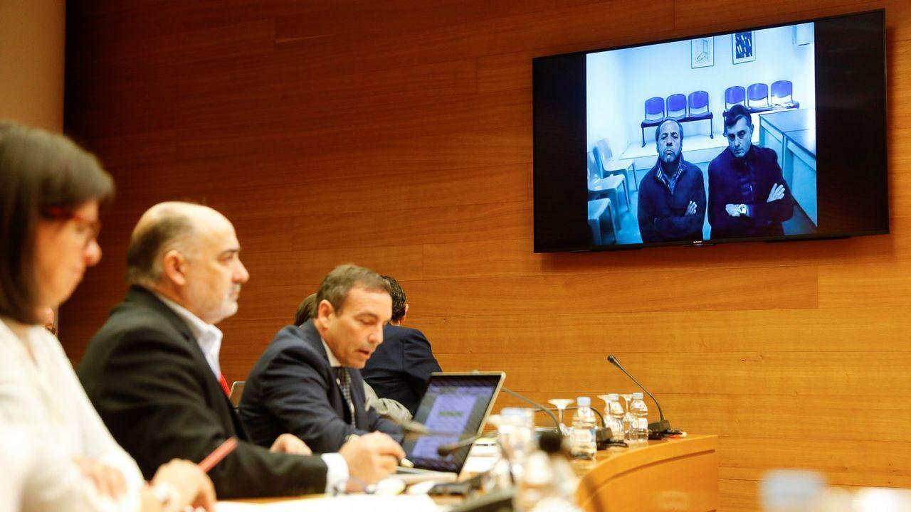 El Bigotes intervino por videoconferencia ante la comisión de Les Corts