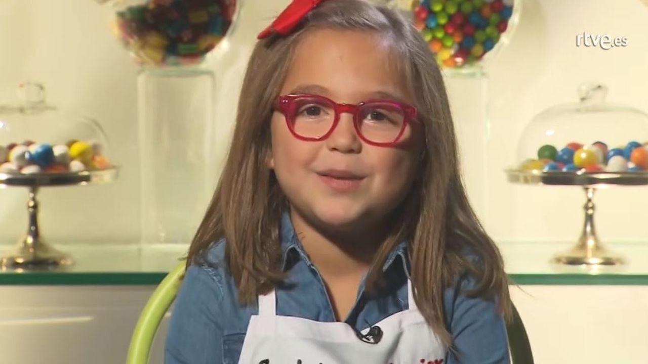 La concursante gijonesa de Master Chef Carlota
